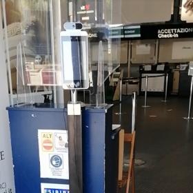 Aeroporto dello Stretto Reggio Calabria Installazione Termoscanner